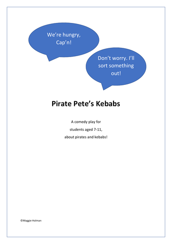 Pirate Pete's Kebabs: A Comedy Play for KS2 Students