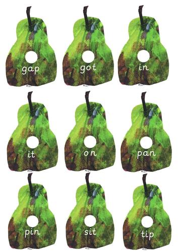 The Very Hungry Caterpillar CVC Fruit