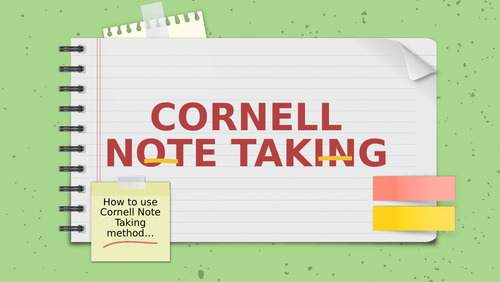A Level Cornell Note Taking