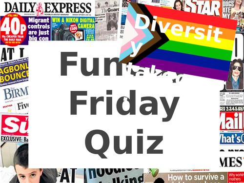Fun Friday Quiz - Diversity Takeover