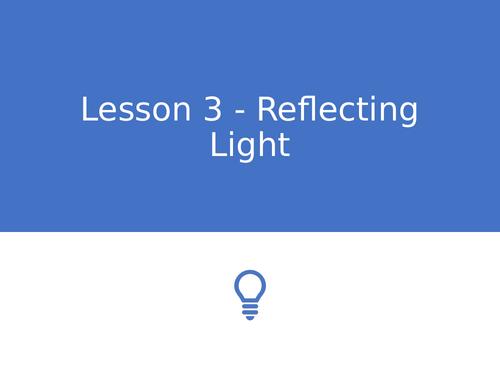 KS3 Science | 3.4.2 Light - Lesson 3 - Reflecting light FULL LESSON