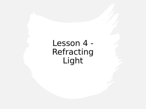 KS3 Science | 3.4.2 Light - Lesson 4 - Refracting light FULL LESSON
