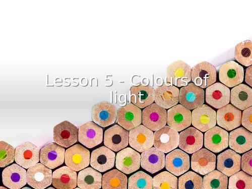 KS3 Science | 3.4.2 Light - Lesson 5 - Colours of light FULL LESSON