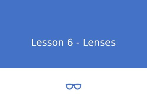 KS3 Science | 3.4.2 Light - Lesson 6 - Lenses FULL LESSON