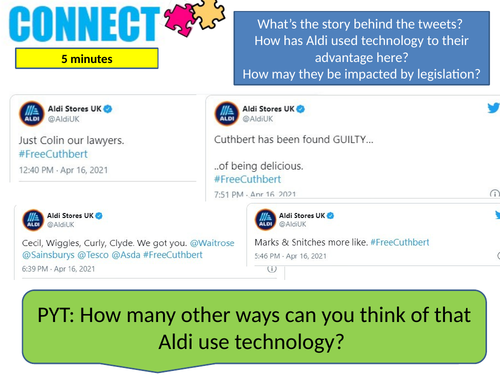 Technology in business - Social media GCSE