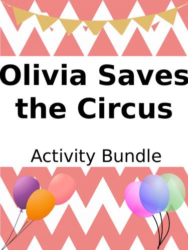 Olivia Saves the Circus - Activity Bundle