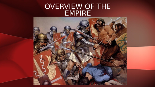 Overview of the Roman Empire