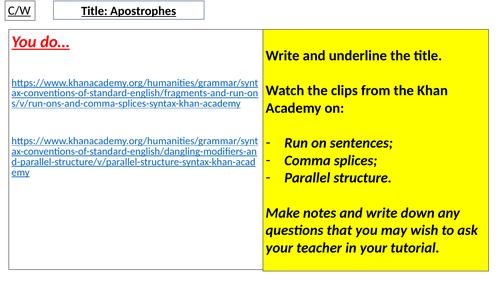 Apostrophes 3