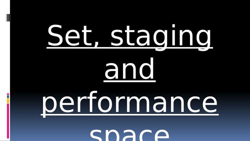 INFRA - Set /staging analysis