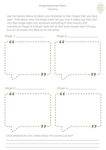Image Response Sheet
