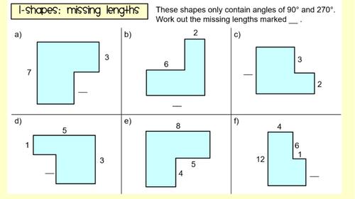 Perimeter of Compound Shapes - Lesson