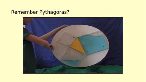 Pythagoras Problem Solving Lesson