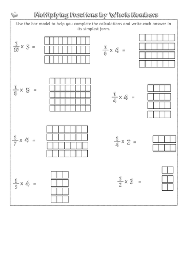 Multiplying Fractions by Whole Numbers Y5 Fractions Lesson 9 - Year 5