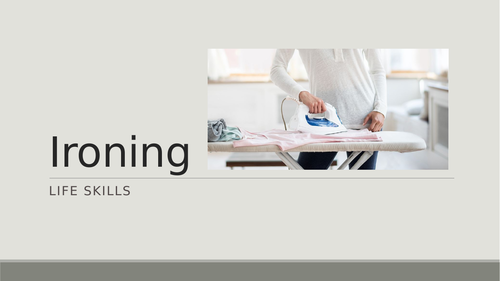 Introduction to Ironing
