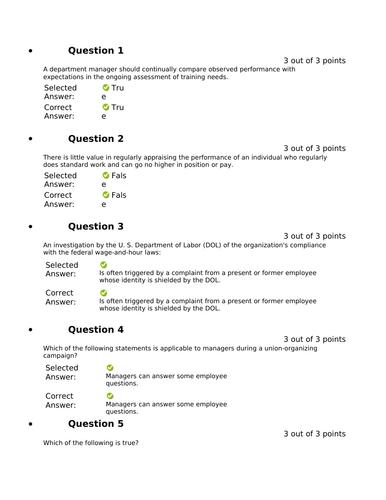 HLTH 4120 Week 6 Final Exam (100% Correct)