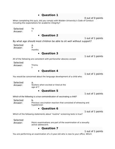 NUNP 6541N Week 6 Midterm Exam