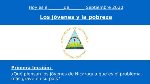 Jovenes de Nicaragua
