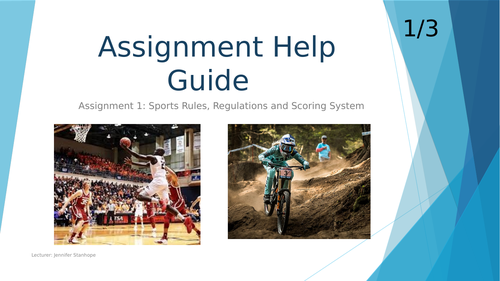 Unit 2 Practical Sports Performance (Rules, Regs  & Scoring System Assignment support)
