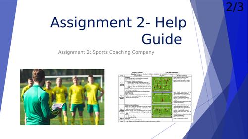 Unit 2 Practical Sports Performance (Sports Coaching Company)