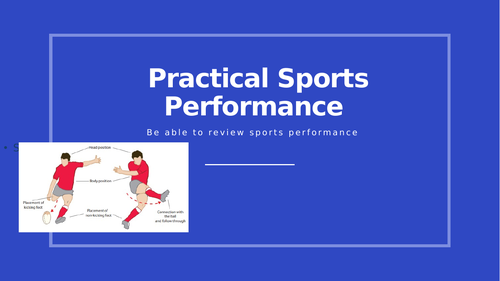Unit 2 Practical Sports Performance (Performance Review)
