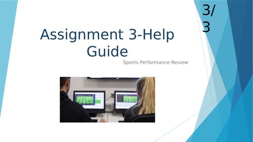 Unit 2 Practical Sports Performance (Sport Performance Review)
