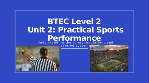 Unit 2 Practical Sports Performance