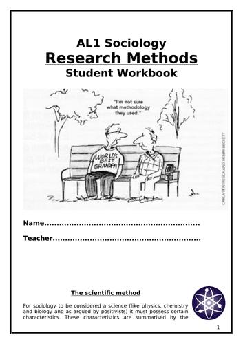 Sociology Research Methods Booklet AL1