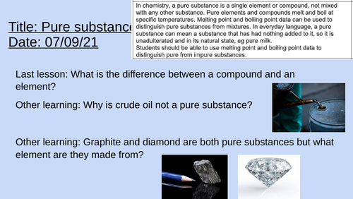 AQA Chemical analysis trilogy complete unit (in the process of uploading)