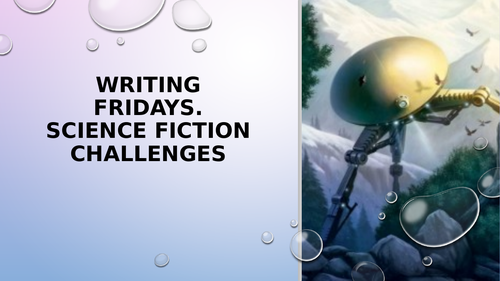 Science Fiction Creative Writing - Writing Friday's