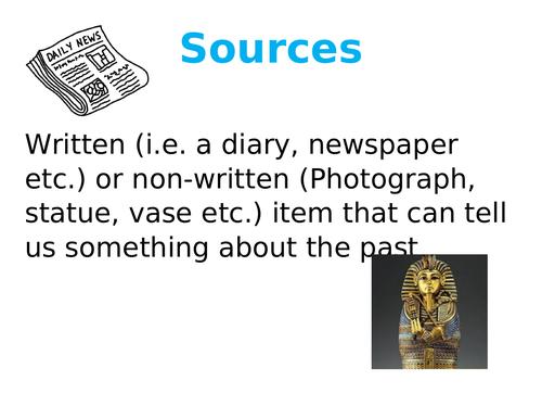 History key words