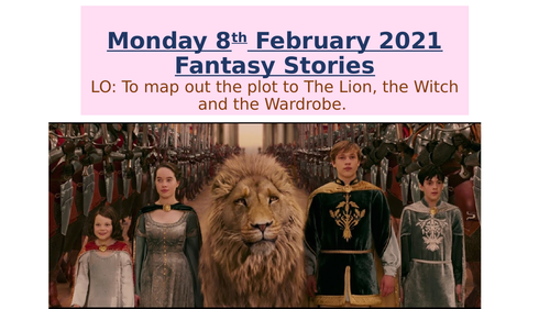 Fantasy stores - The lion witch wardrobe