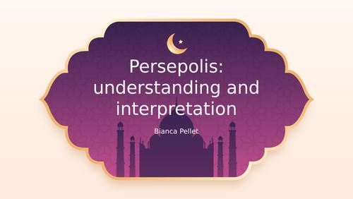 Persepolis bundle: PPT, comprehension sheet, answer grid