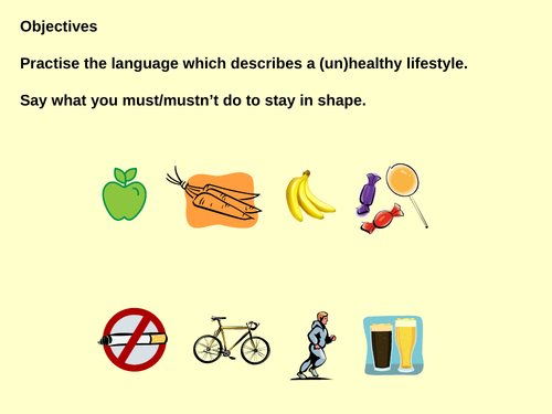What you must/mustn't do to keep in good health