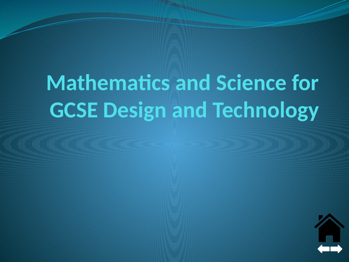 Maths in Design and Technology