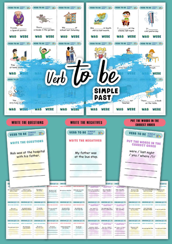 Verb to BE . Simple Past