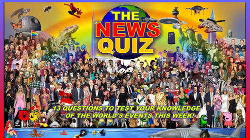 CURRENT WEEK The News Quiz 11th - 18th October 2021 Form Tutor Time Current Affairs