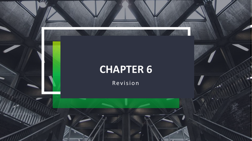 Chapter 6 revision ICT 0417