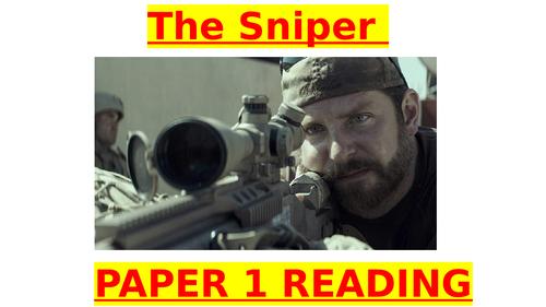 THE SNIPER paper 1 reading revision (GCSE English Language)