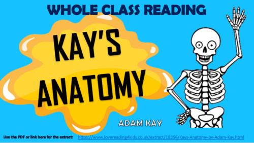 Kay's Anatomy - Adam Kay - Whole Class Reading Session!