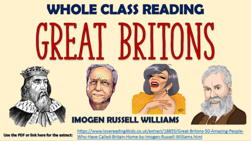 Great Britons - Whole Class Reading Session!