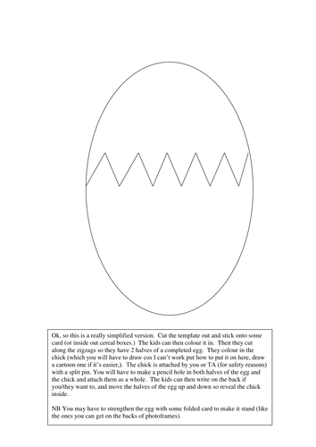 Easter Egg Templates!