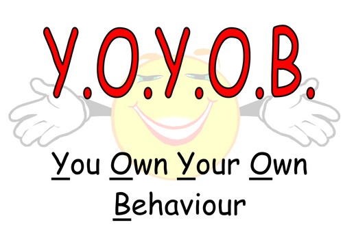 Behaviour poster