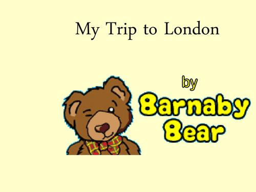 Barnaby Bear's trip to London