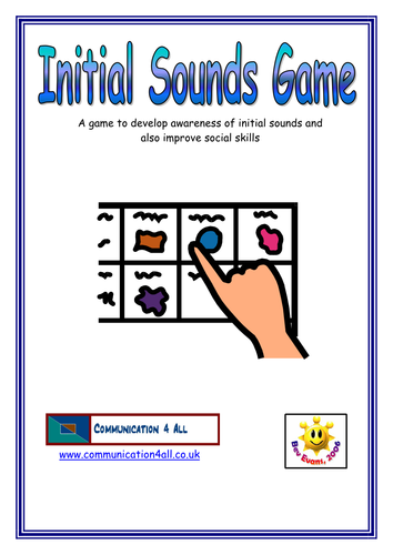 Initial sound game