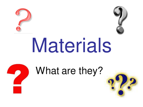 Materials Powerpoint 3002857 on Natural Resources Worksheet