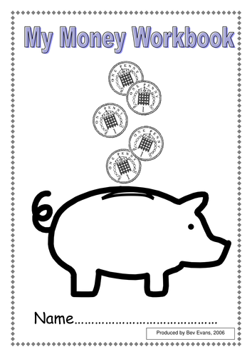 'Working with pennies' Money Workbook by bevevans22