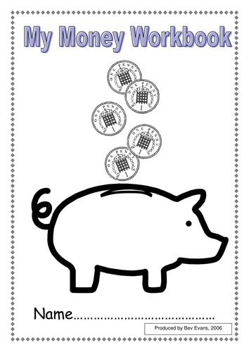 39 working with pennies 39 money workbook by bevevans22 teaching resources. Black Bedroom Furniture Sets. Home Design Ideas