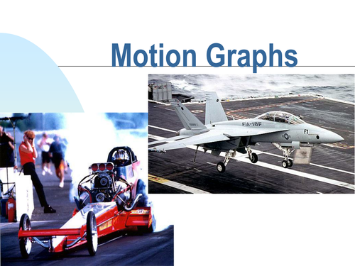 motion graphs powerpoint