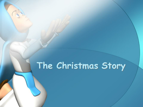 The Christmas Story for IWB - Comic Sans Font