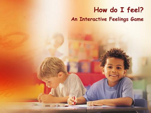 How do I Feel? An IWB Activity
